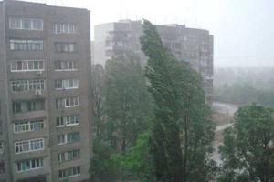 киев, ураган, ветер, погодные условия