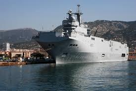 Франция, Мистраль, Севастополь, корабль, передача, спущен, вода