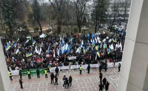 Свинья гроб протесты Украина, Рынок земли, Зеленский, Президент, Верховная Рада видео