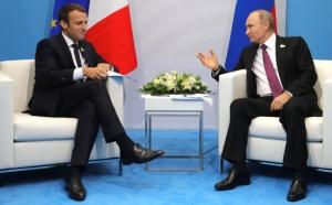 """Саммит """"Большой двадцатки"""" G20, Эммануэль Макрон, Владимир Путин, Встреча, Опоздание"""