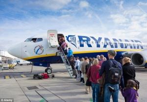 Ryanair, Борисполь, МАУ