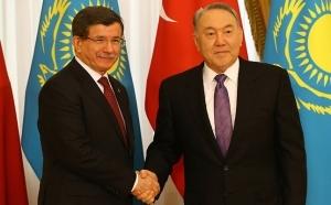 Казахстан, Нурсултан Назарбаев, Турция, визит в Казахстан Ахмета Давутоглу, политика