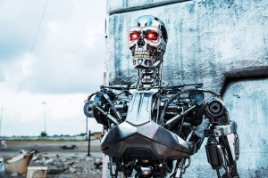 терминатор, искуственный интеллект, Маск, видео