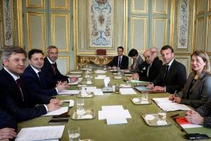 франция, украина, зеленский, макрон, порошенко, выборы