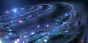 Суперкомпьютер, Большой взрыв, Вселенная, симуляция, процессоры, материя, Штутгарт