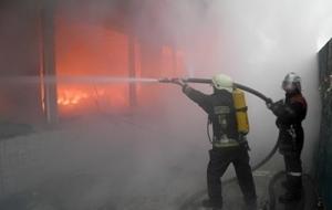 """киев, радиорынок, """"караваевы дачи"""", пожар, происшествия, общество, видео, украина"""