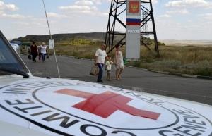 гуманитарная помощь, гуманитарка, гуманитарный груз, война, военные действия, гражданская война, новости войны, россия, украина, международный красный крест