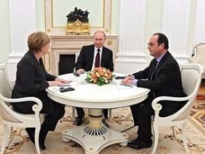 меркель, олланд, путин, выборы, минские, договоренности