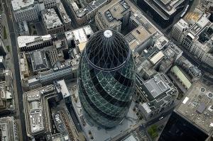 лондон, огурец, небоскреб