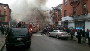 нью-йорк, сша, манхэттен, происшествия, взрыв, прямая видео-трансляция