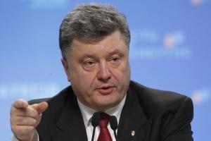 петр порошенко, пасха, минские соглашения, прекращение огня, новости украины
