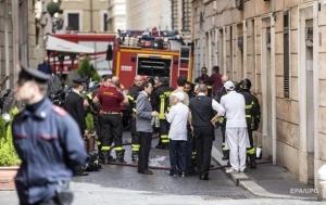 взрыв, рим, италия, видео, происшествия, общество, жертвы