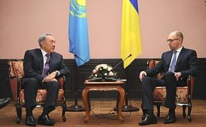 яценюк, назарбаев, новости украины, политика, киев, казахстан