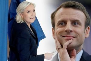 2017, 7 мая, выборы, Франция, президент, онлайн, сегодня, результат, экзит-пол, лидер гонки, Марин Ле Пен, Макрон, Эммануэль, кто победил