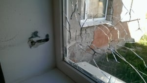 Луганск, школа, грады, губернатор, дети, снаряд