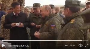 Россия, политика, путин, визит, полигон анекдот видео