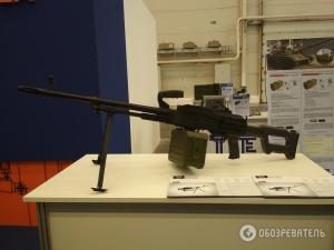 пулемет калашникова, оружие, стрелковое оружие, украинский пулемет, КТ-7,62, кадры, фото, новости украины