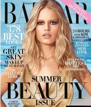 шоу-бизнес, журнал Harper's Bazaar, майская фотосессия, кендалл дженнер, семья кардашьян
