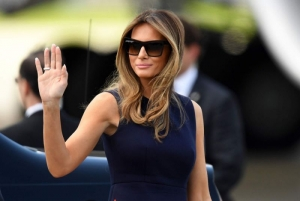 Трамп, G20, протест, Мелания Трамп, Дональд Трамп, США, Гамбург, Соединенные Штаты Америки, жена Трампа, супруга Трампа, Президент США, Германия, происшествия, большая двадцатка.