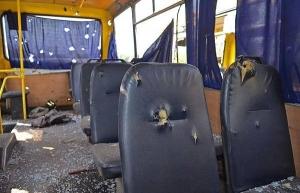 автобус, волноваха, град, обсе