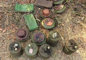 восток Украины, Донбасс, оружие,полиция, тайник