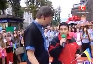 новости, Украина, Донбасс, Харцызск, Караоке на Майдане, жительница Донбасса, стих, обращение к россиянам, видео, кадры, соцсети