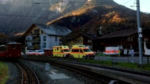 швейцария, стрельба, вокзал