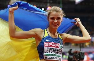 легкая атлетика, Украина, Юлия Левченко, показала фото с женихом, общество