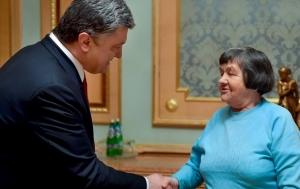 украина, петр порошенко, надежда савченко, мать, встреча