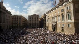Испания, Каталония, король Испании, референдум за независимость, митинги за единство Испании