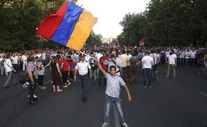 ереван, армянский майдан, протесты в армении, многочисленный митинг