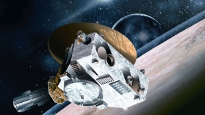 космический аппарат Nasa, Плутон, сближение
