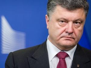 Украина, рф путин граница, Военное положение  Порошенко