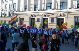 украина, криминал, полиция, запорожье, хулигантство, скандал, ЛГБТ
