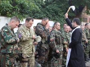 МВД, отряд, милиционеры, Донбасс, отправление, АТО