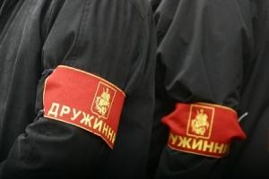 Крым, россия, дружинники