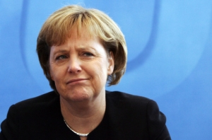 меркель, россия, украина, новогоднее обращение, критика