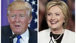 политика, выборы, клинтон, сша, трамп, рейтинг