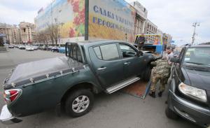 порошенко, киев, происшествия, авария, азов, майдан незалежности