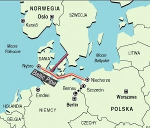 Польша, Дания, газопровод,Газпром, энергобезопасность, норвежский газ