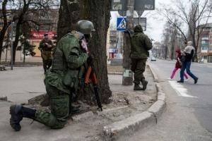 донецк, разборки боевиков, штурм общежитий, парк щербакова