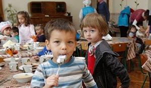 киев, инфляция, дети, детский сад, еда