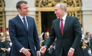 Макрон, Путин, телефонный разговор, Франция, Россия, Донбасс