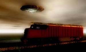 НЛО, неопознанный летающий объект, тарелка, инопланетяне, пришельцы, кадры, фото, Россия, Владимировская область, поезд, происшествие