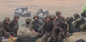 Вооруженные силы Украины, военные учения ВДВ Украины, Министерство обороны