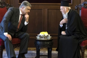 украина, политика, религия, автокефалия, варфоломей, константинополь, единая церковь, порошенко