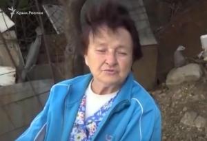 новости, Украина, Крым, комментарий пенсионерки, Америка нас травит, видео, кадры, жалобы на жизнь в Крыму, Путин, гуманитарная помощь
