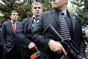 саакашвили, охрана