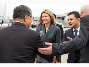 Латвия, елена зеленская, первая леди, президент украины, владимир зеленский, визит,  фото