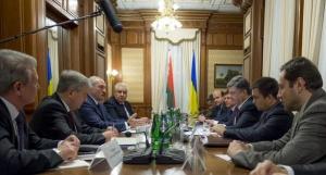порошенко, лукашенко, беларусь, украина, встреча, министры